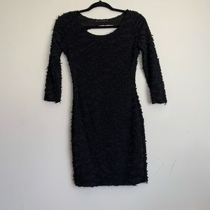 Symphony Black Dress